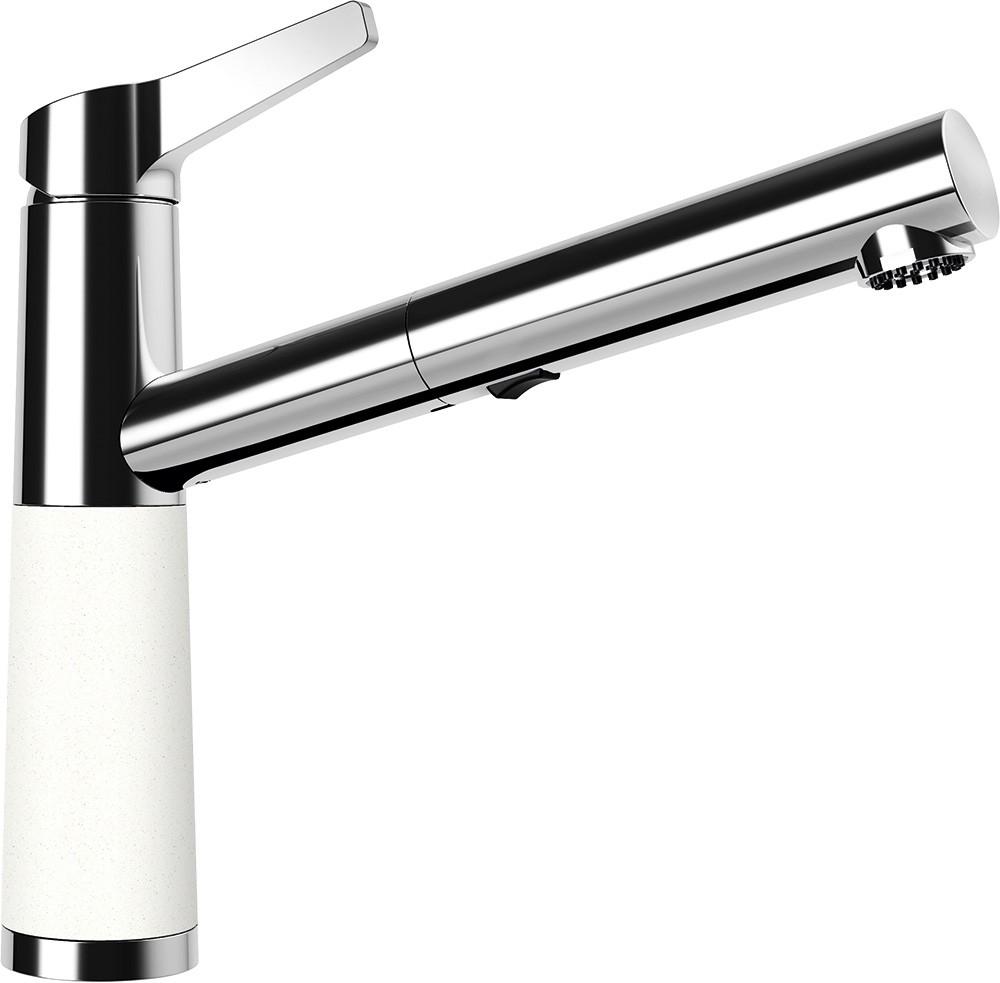 Schock SC-510 Gránit Csaptelep Alpina Cristalite Kihúzható Zuhanyfejjel