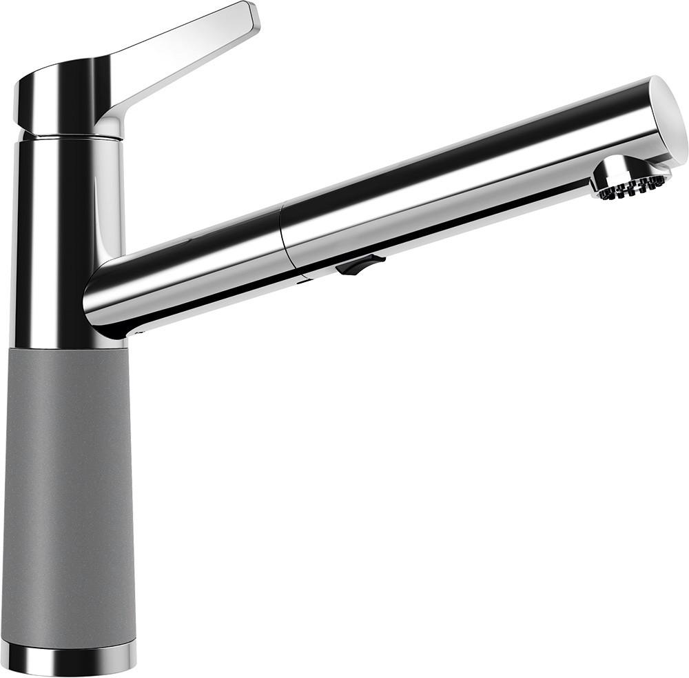 Schock SC-510 Gránit Csaptelep Croma Cristalite Kihúzható Zuhanyfejjel