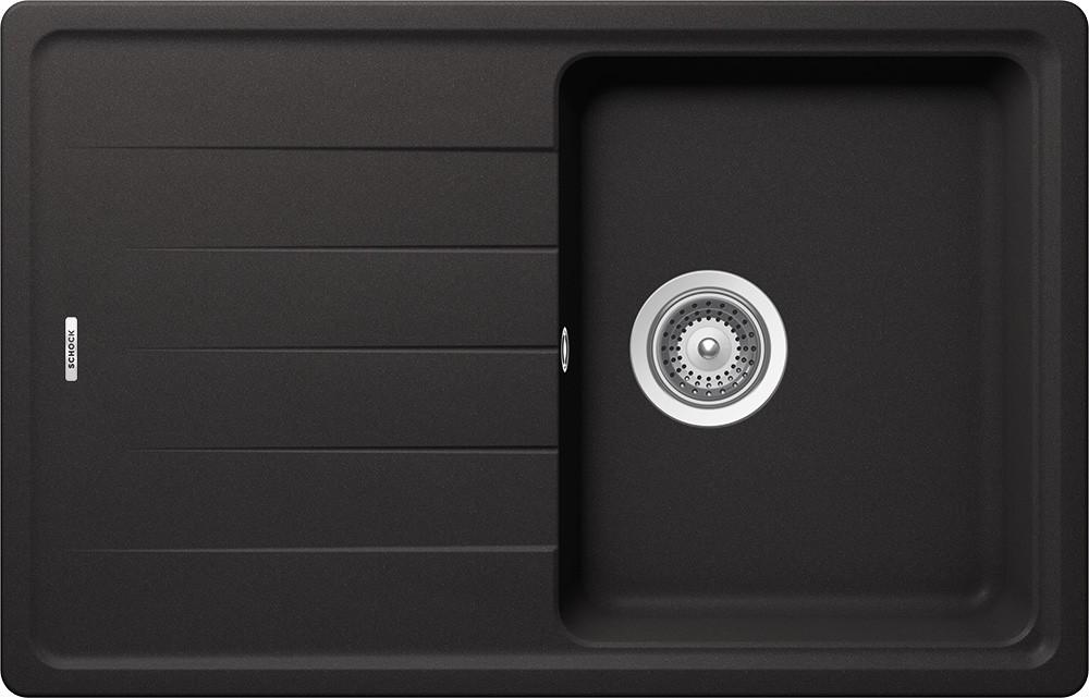 Schock Element D-100S Gránit Mosogató 780 x 500 mm Nero Cristalite