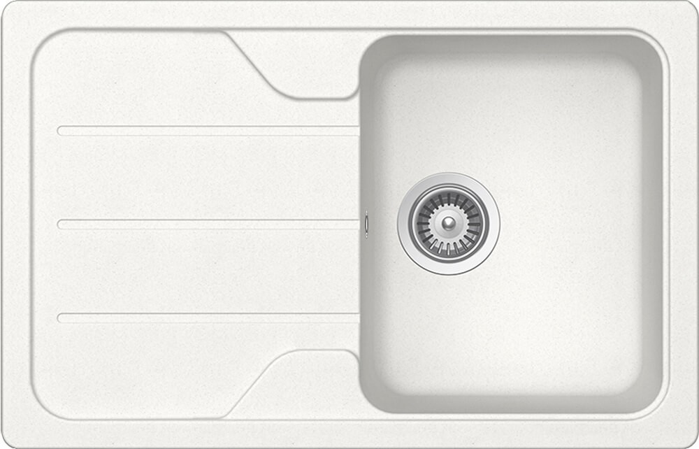 Schock Formhaus D-100S Gránit Mosogató 780 x 500 mm Alpina Cristalite