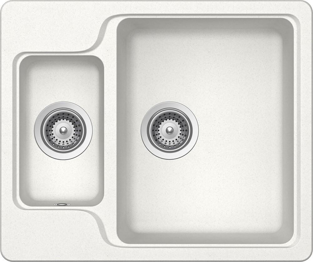 Schock Manhattan N-150 Gránit Mosogató 610 x 510 mm Alpina Cristalite