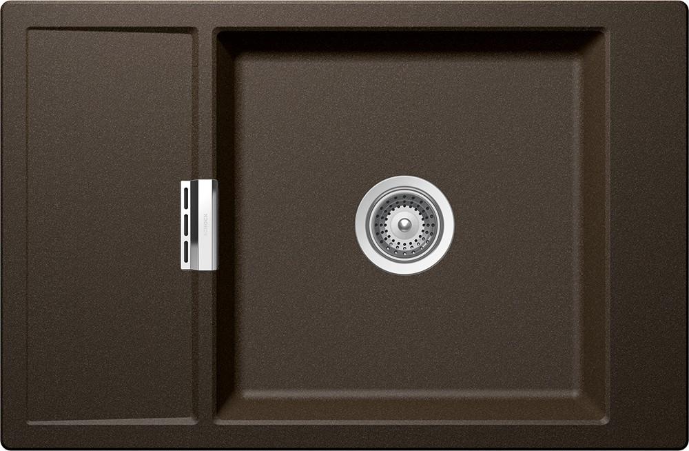 Schock Mono D-100XS Gránit Mosogató 780 x 510 mm Bronze Cristadur
