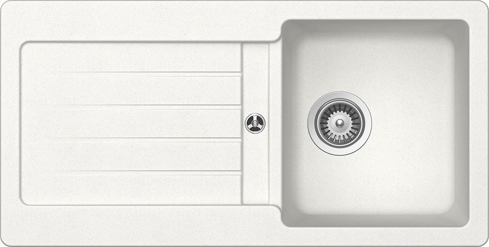 Schock Typos D-100S Gránit Mosogató 860 x 435 mm Alpina Cristalite