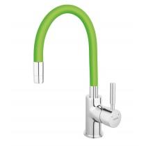 Baterie Ferro Zumba cu Pipa Flexibila Verde