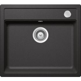 Schock Mono N-100 Gránit Mosogató 570 x 510 mm Stone Cristadur Lefolyó Távműködtetővel