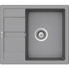 Schock Ronda D-100 Gránit Mosogató 580 x 500 mm Croma Cristalite