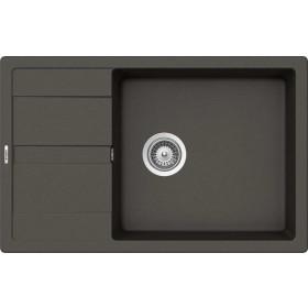Schock Ronda D-100XL Gránit Mosogató 780 x 500 mm Asphalt Cristalite