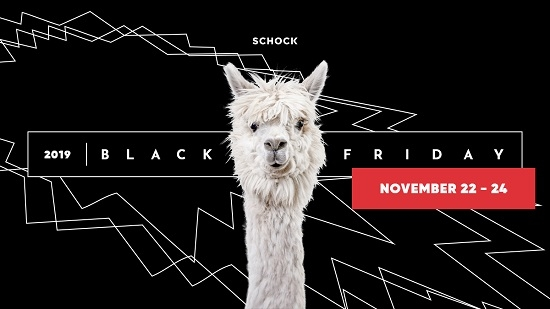 BLACK FRIDAY WEEKEND - November 22-24