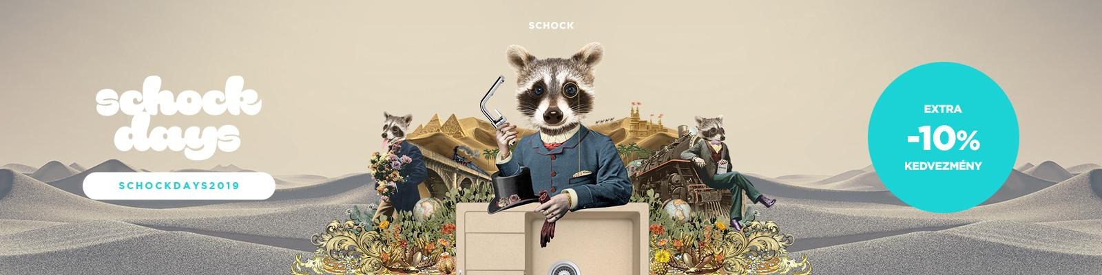 SCHOCK Days - Extra -10% Kedvezmény