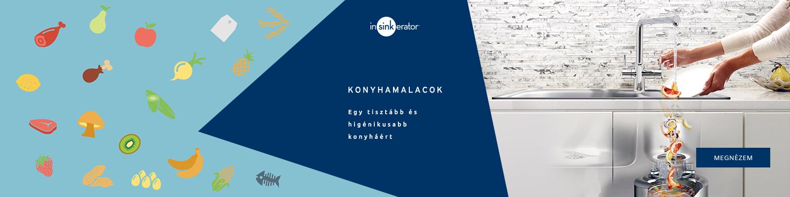 Konyhamalacok - InSinkErator